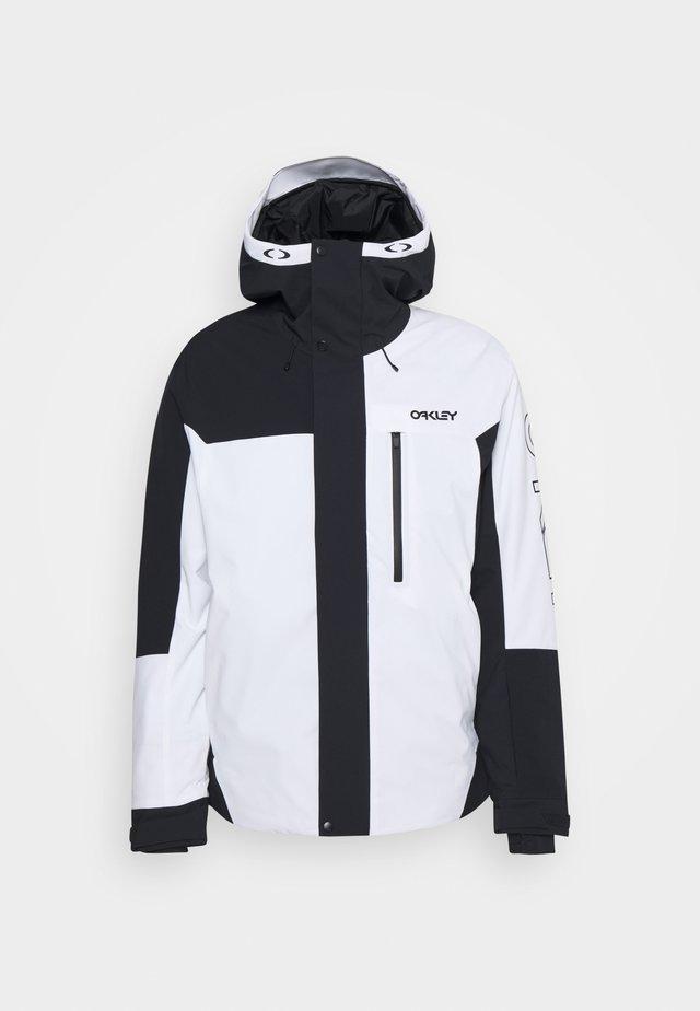 JACKETS - Snowboard jacket - black/white