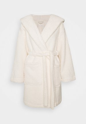 HOOD - Dressing gown - cream