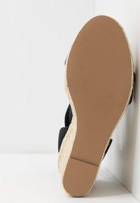 Steve Madden - SHIMMY - High heeled sandals - black - 6