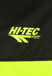 Hi-Tec - LUCAS TRACKSUIT SET - Träningsset - lime punch/black - 6