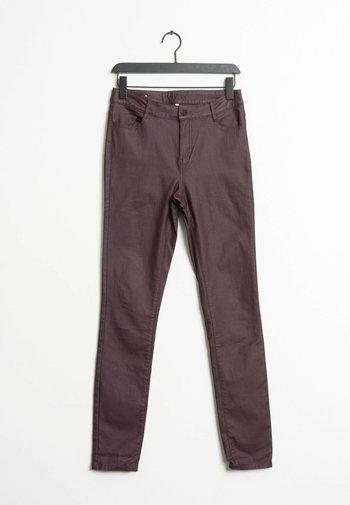 Slim fit jeans - purple