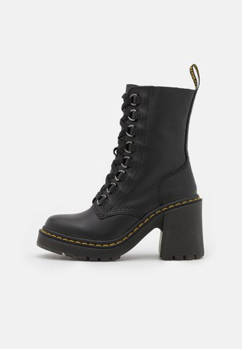 CHESNEY - Lace-up ankle boots - black