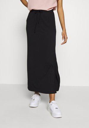 VIDELL MAXI SKIRT - A-line skirt - black