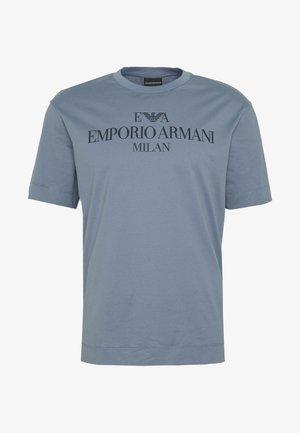 T-shirts print - acciaio lettea