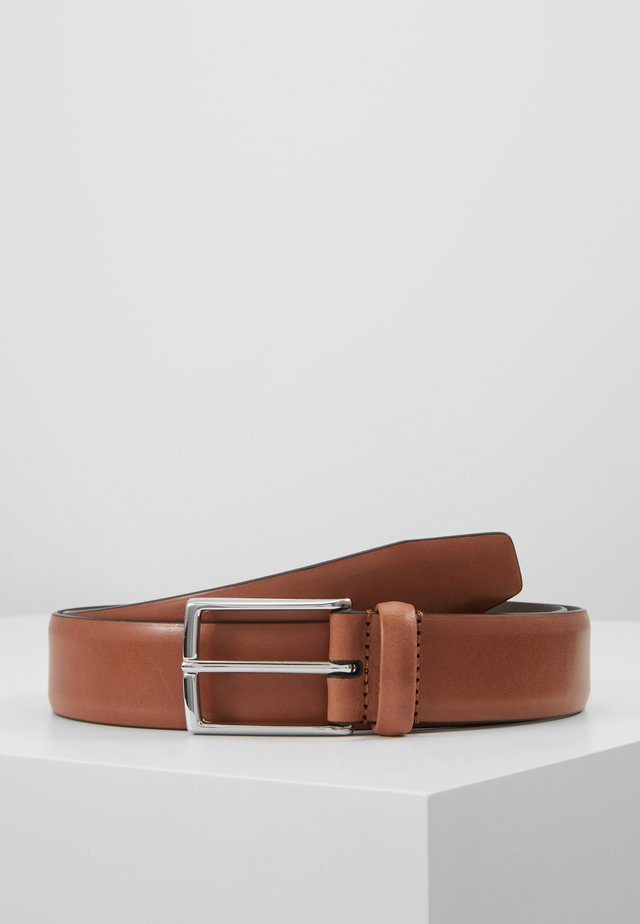 Belt business - cognac