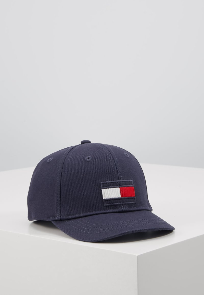 Tommy Hilfiger - BIG FLAG - Cap - blue