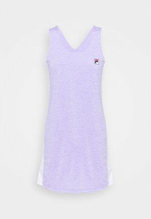 DRESS YUMI - Jersey dress - purple melange
