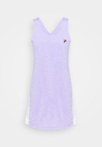 DRESS YUMI - Jerseyjurk - purple melange