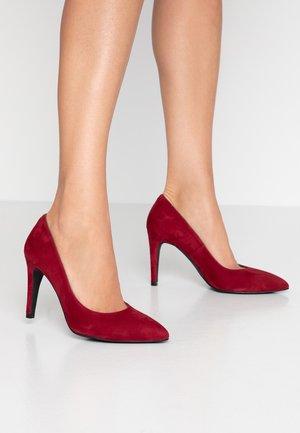 WIDE FIT DIAN - High heels - burdeos