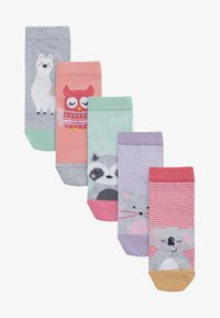 Next - 5 PACK ANIMAL - Socks - multi-coloured - 0