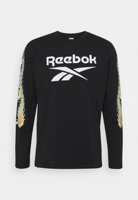 Reebok Classic - MINION CHINESE NEW YEAR LONG-SLEEVE TOP - Long sleeved top - black - 0