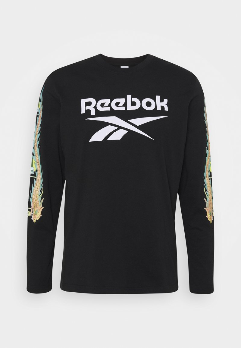 Reebok Classic - MINION CHINESE NEW YEAR LONG-SLEEVE TOP - Long sleeved top - black