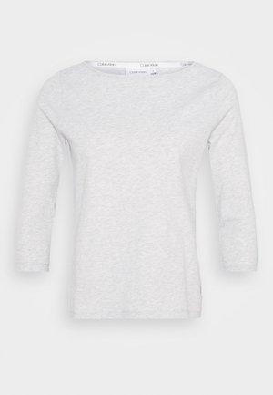 3/4 BOATNECK  - Long sleeved top - light grey heather
