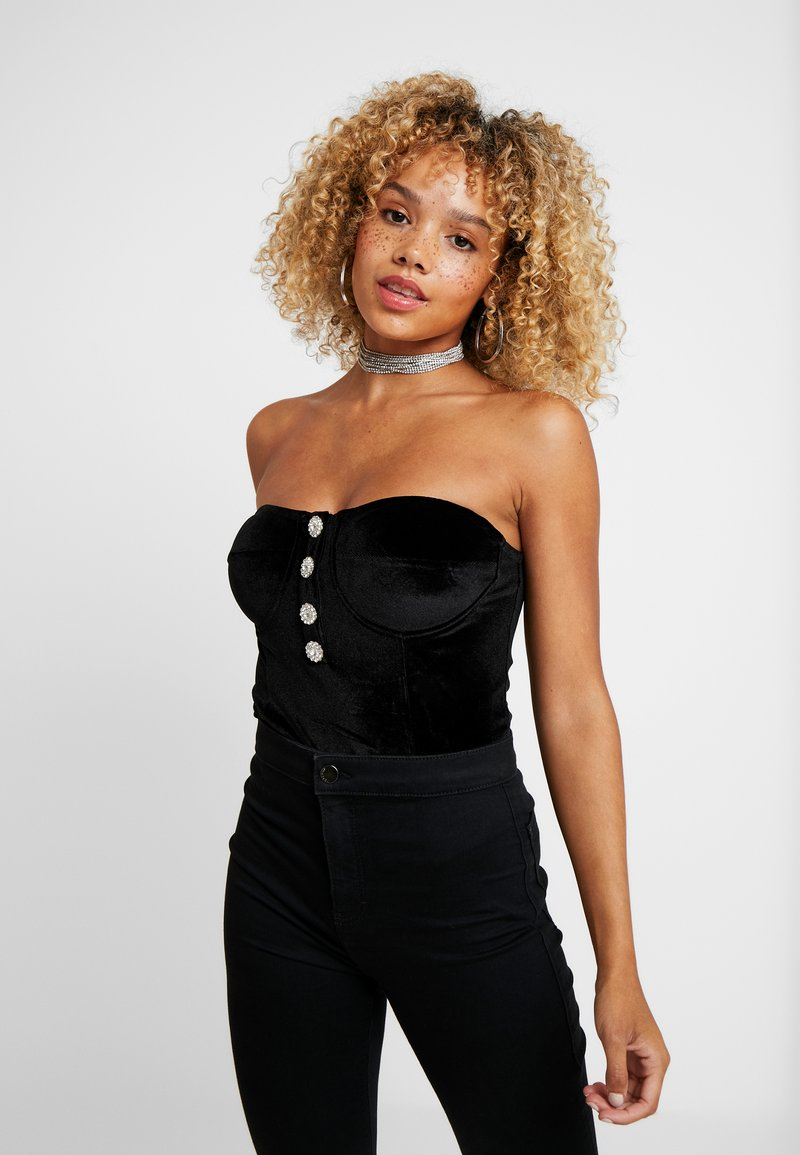 Fashion Union Petite - KEVA - Top - black