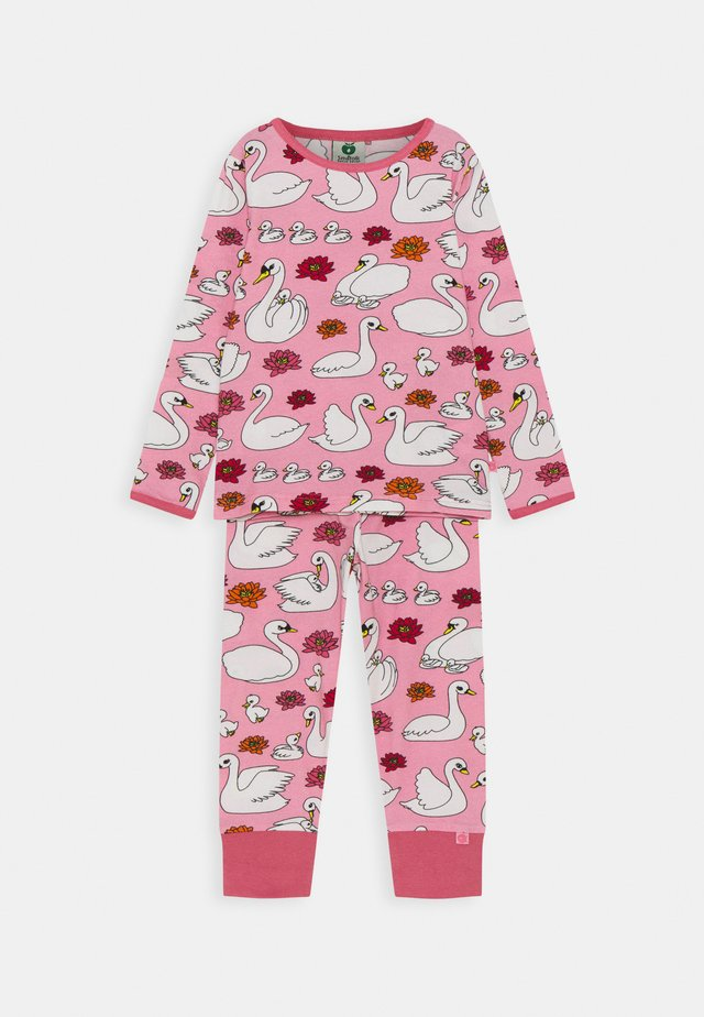 NATTØJ MED SVANE SET - Pyjamas - sea pink