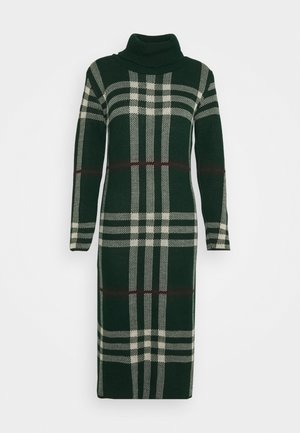 MIDI DRESS - Jumper dress - bottle green