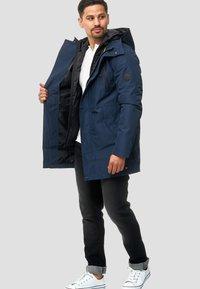 INDICODE JEANS - Winter coat - navy - 1