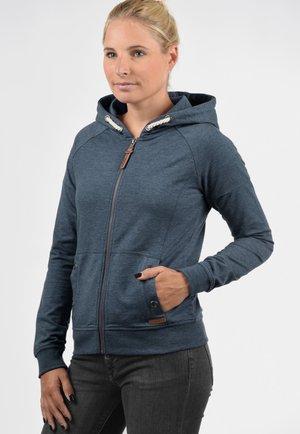 MANDY - Zip-up hoodie - mottled blue