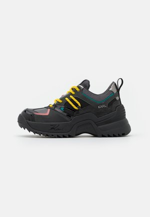 QUEST DELTA MIX - Trainers - dark grey/multicolor