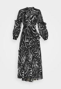 Topshop - ZEBRA PLEATED - Maxi dress - mono - 3