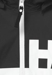 Helly Hansen - ACTIVE RAIN UNISEX - Vodotěsná bunda - black - 3