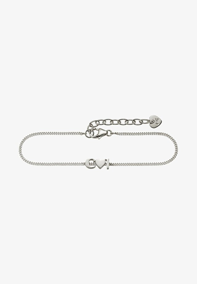 LOVE - Bracelet - silver-coloured