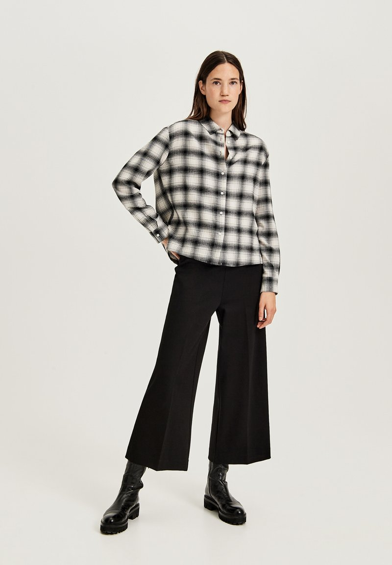 Opus - Button-down blouse - off white