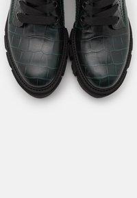 Kennel + Schmenger - ROOM - Platform ankle boots - bottle - 5
