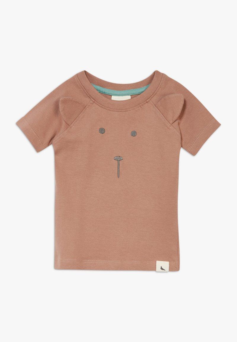 Turtledove - BEAR FACE BABY  - Printtipaita - brown