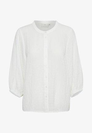 BLOUSE - Pitkähihainen paita - chalk