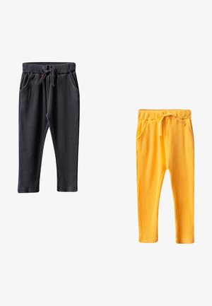 2 PACK - Tracksuit bottoms - anthracite