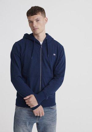COLLECTIVE - Zip-up hoodie - pilot mid blue