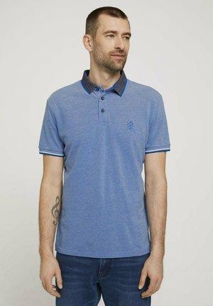 STRUKTURIERTES - Poloshirt - blue