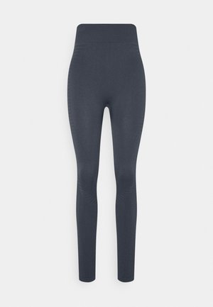 SEAMLESS PANELLED LEGGING - Punčochy - ombre blue