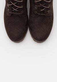 Timberland - ALLINGTON 6 IN LACE UP - High Heel Stiefelette - dark brown - 5