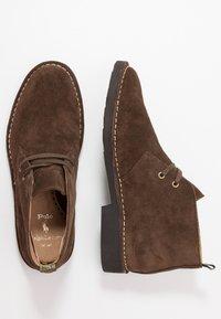Polo Ralph Lauren - TALAN CHUKKA BOOTS CASUAL - Zapatos con cordones - chocolate brown - 1