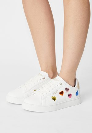 LOVE MULTI  - Sneakers basse - white/orange