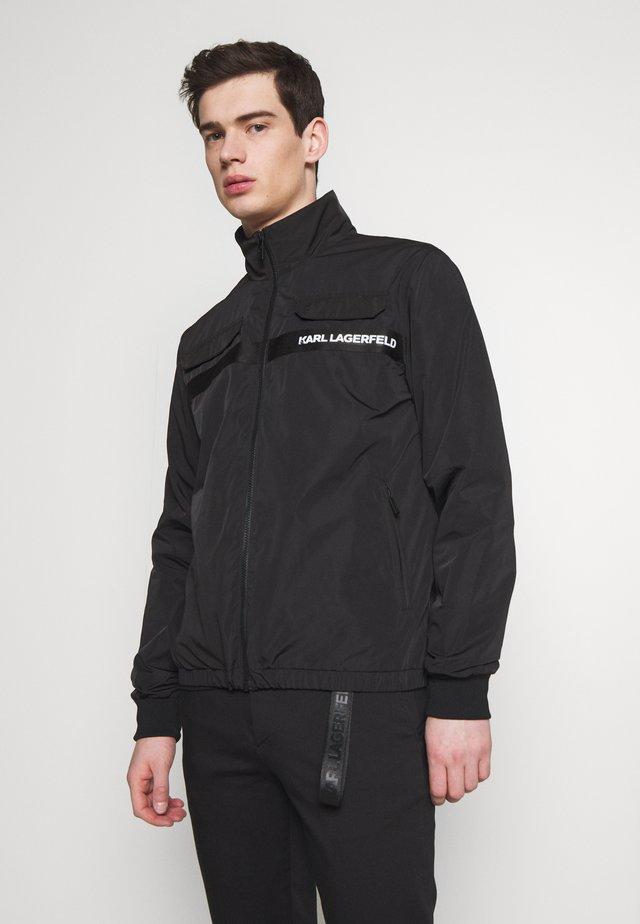 BLOUSON - Summer jacket - black