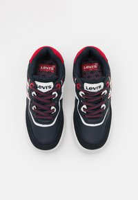 Levi's® - IRVING  - Trainers - navy/red - 3