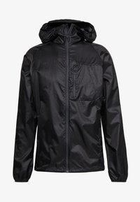 Black Diamond - DISTANCE WIND SHELL - Outdoor jacket - black - 4