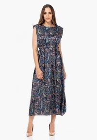 Tantra - Maxi dress - azul marino - 1
