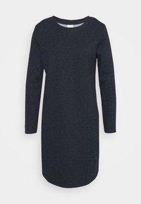 JDYIVY LIFE DRESS - Day dress - navy blazer/black