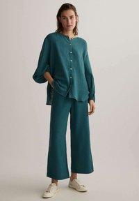 OYSHO - Pantalon classique - dark blue - 1