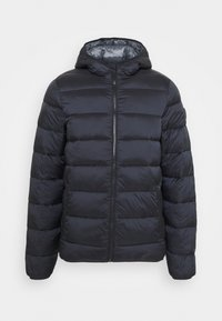 HOODED JACKET - Giacca invernale - black