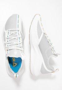 Reebok - SOLE FURY TS - Sports shoes - grey/white/cyan - 1