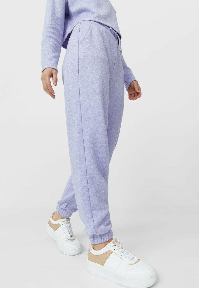Teplákové kalhoty - purple