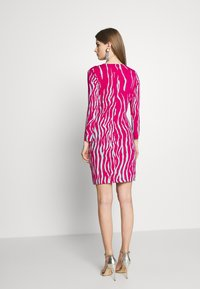 Just Cavalli - Pouzdrové šaty - magenta/mint variant - 3