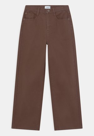 CHOCO  - Relaxed fit jeans - brown