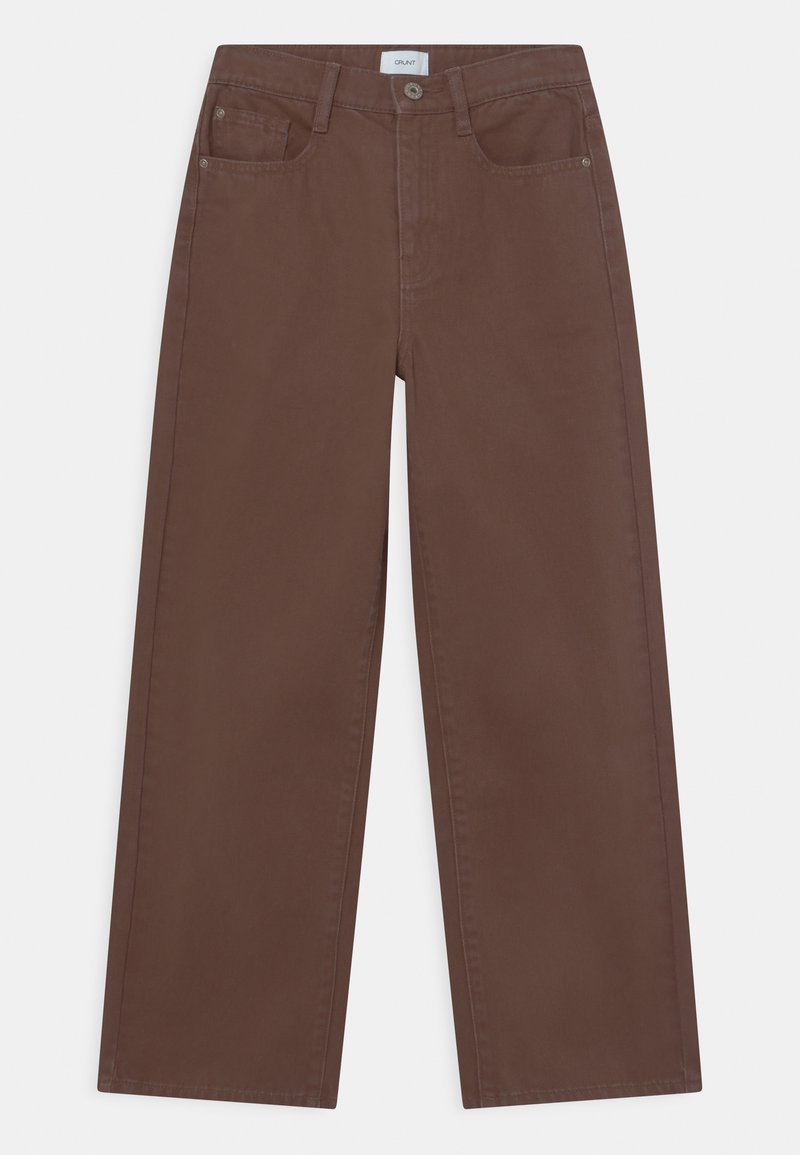 Grunt - CHOCO  - Jeans baggy - brown