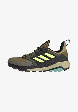TERREX TRAILMAKER - Hiking shoes - wild moss/hi-res yellow/halo gold